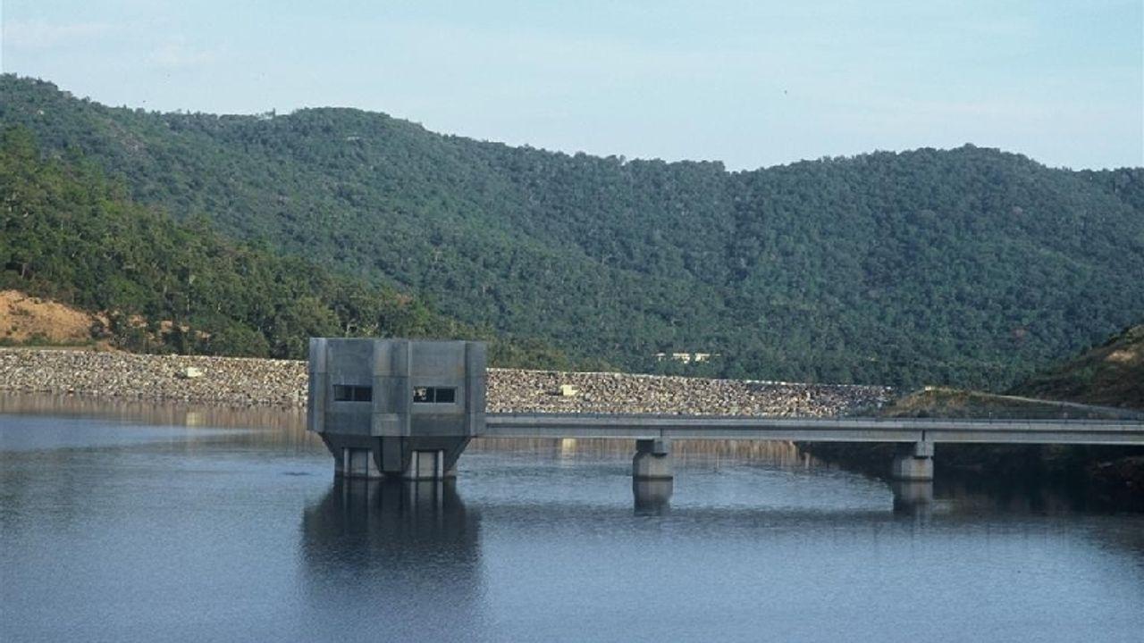 Photo du projet Création d'un barrage sur le territoire des communes de la Môle et de Collobrières
