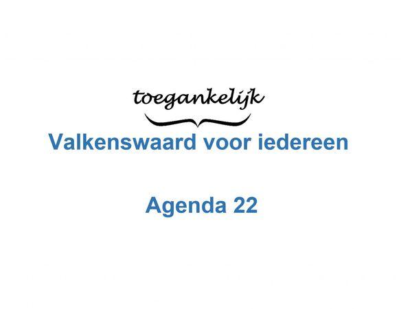Agenda 22, Valkenswaard toegankelijk voor iedereen