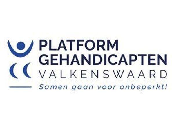 Logo van het Platform Gehandicapten Valkenswaard
