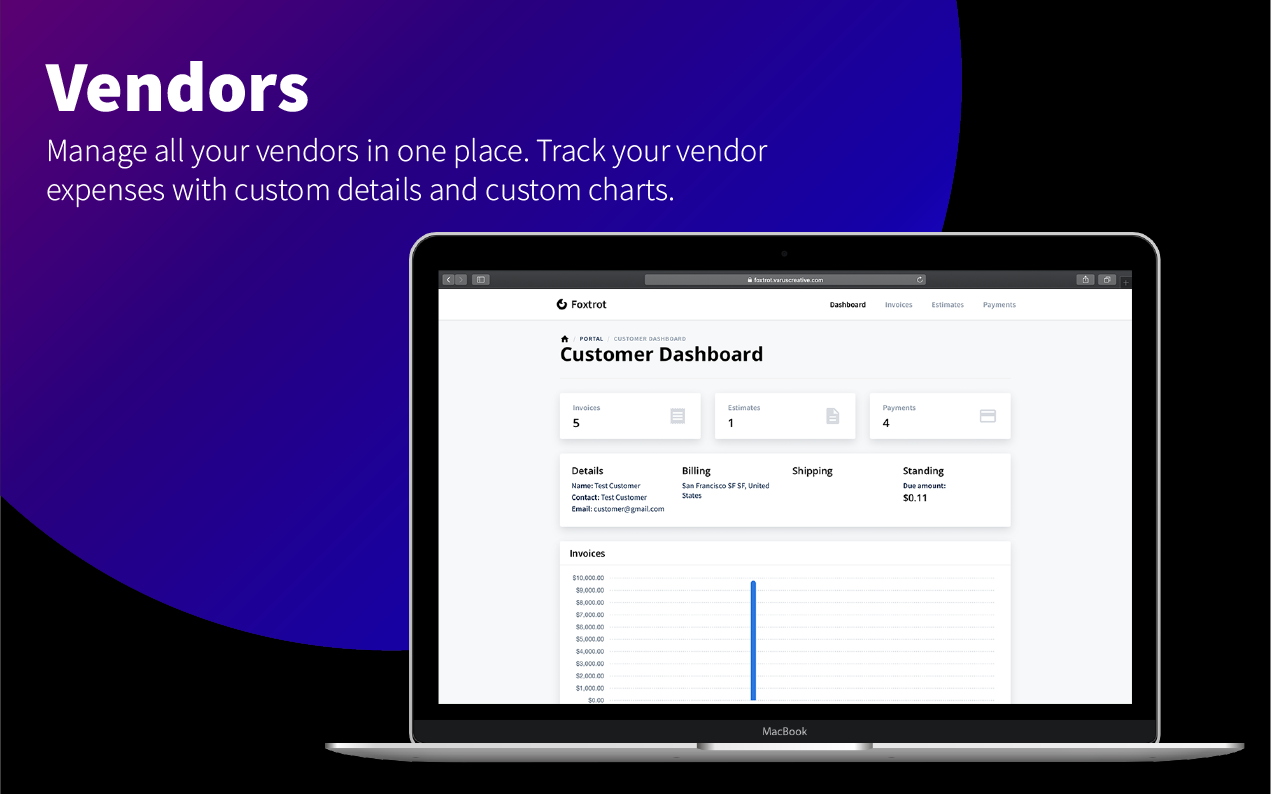 Foxtrot (SaaS) - Customer, Invoice and Expense Management System - 13