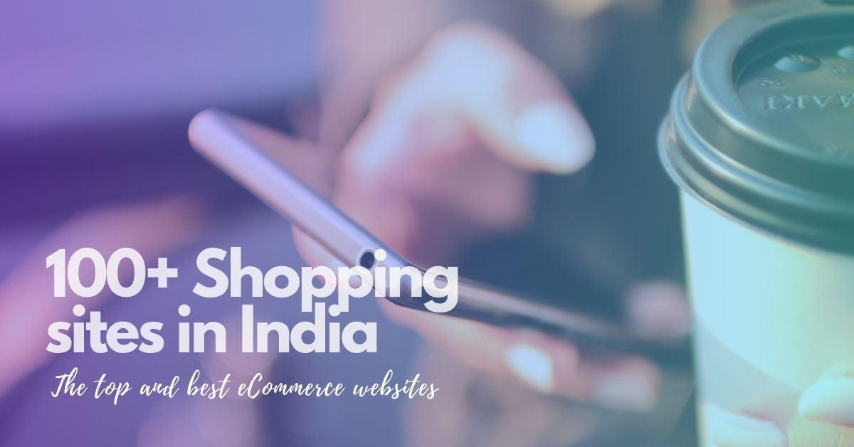 100 shopping sites