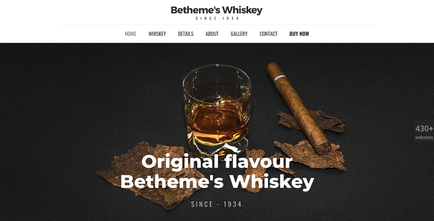 BeTheme bar theme demo