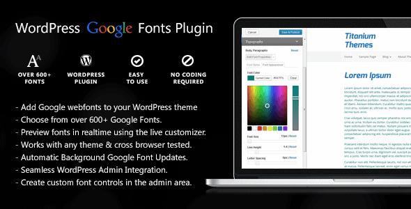 Easy Google Fonts