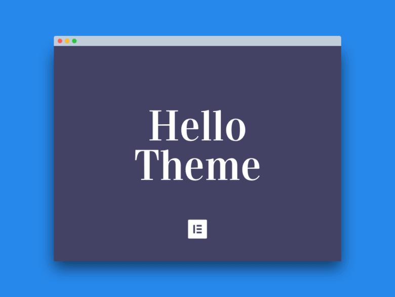 Elementor Hello Theme Free