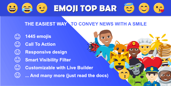 Emoji Top Bar