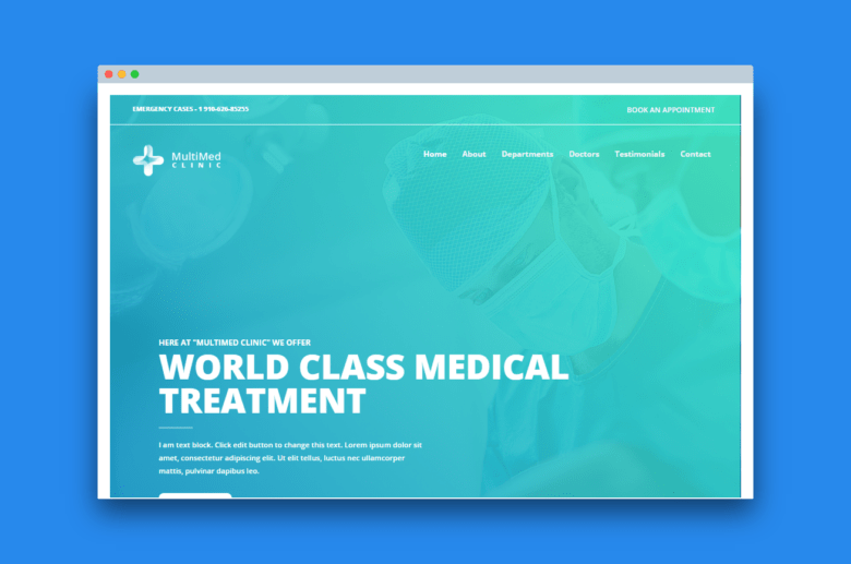 Home MultiMed Clinic - Elementor Ready Theme