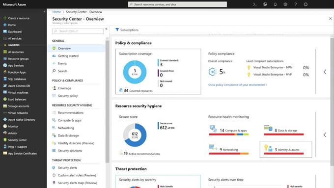 Microsoft azure cloud VM