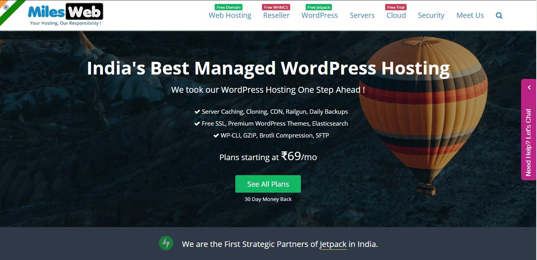 MilesWeb_WP_Hosting