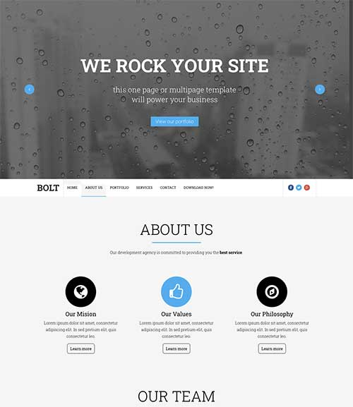 bolt-blogger-template-preview