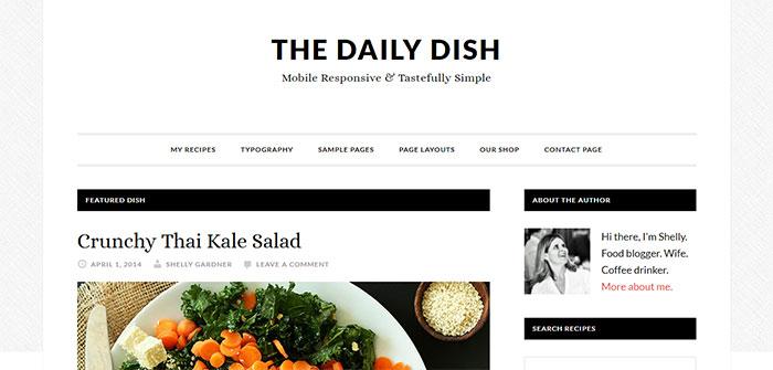 The Daily Dish Genesis Child Theme