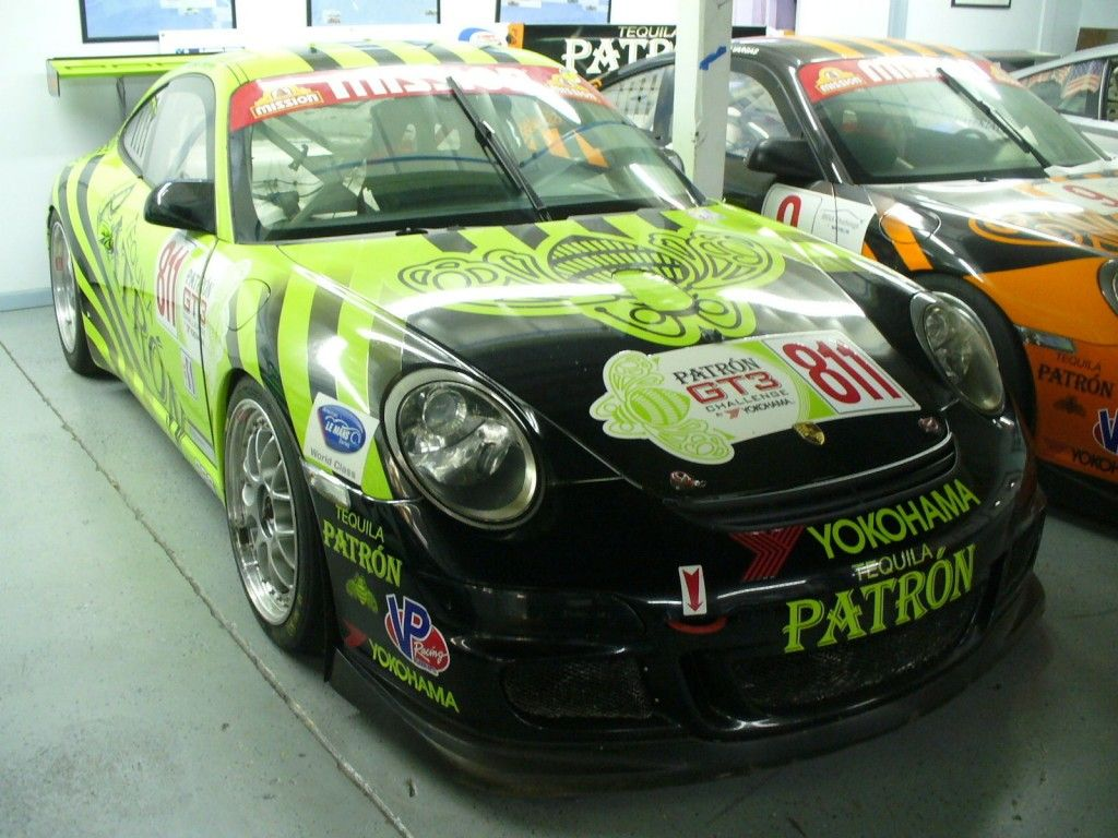 2008 Porsche 997 GT3 CUP Challenge Patron Tequila Team Daytona Sebring 901
