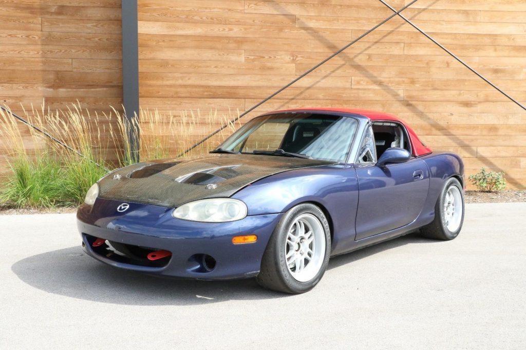 2001 Mazda Miata MX 5 Track Car / Race Car *2.0 Liter Motor*