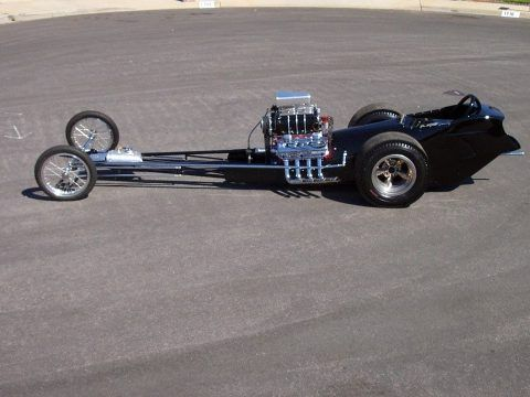 "Original 1962 AA/FD Fuel Dragster Cacklecar ""Chubasco"" for sale"