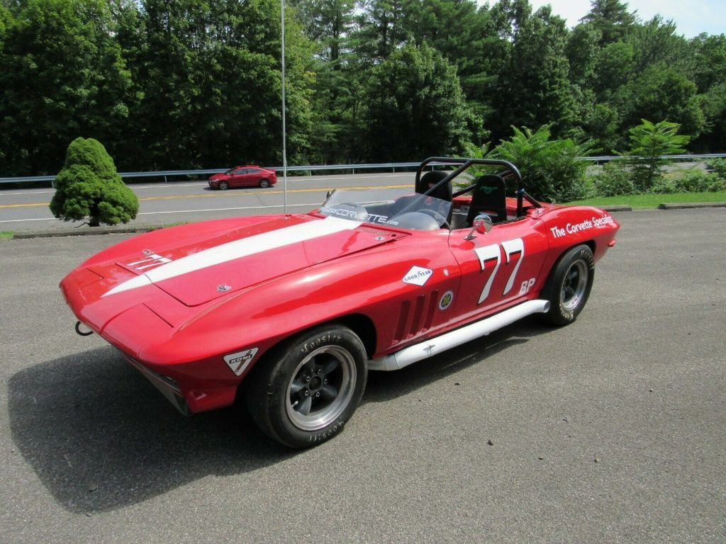 1965 Chevrolet Corvette Road Race Car SCCA SVRA B Production Well Prepared