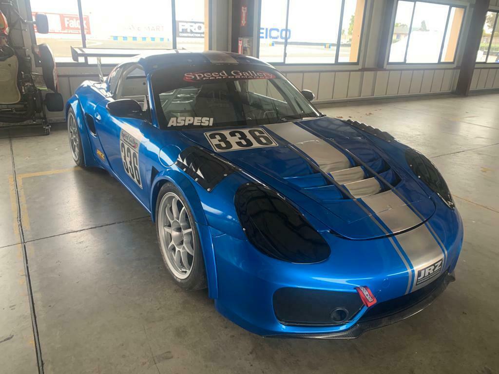 2002 Porsche Boxster S Race Car (Porsche Owners Club GT4 class)