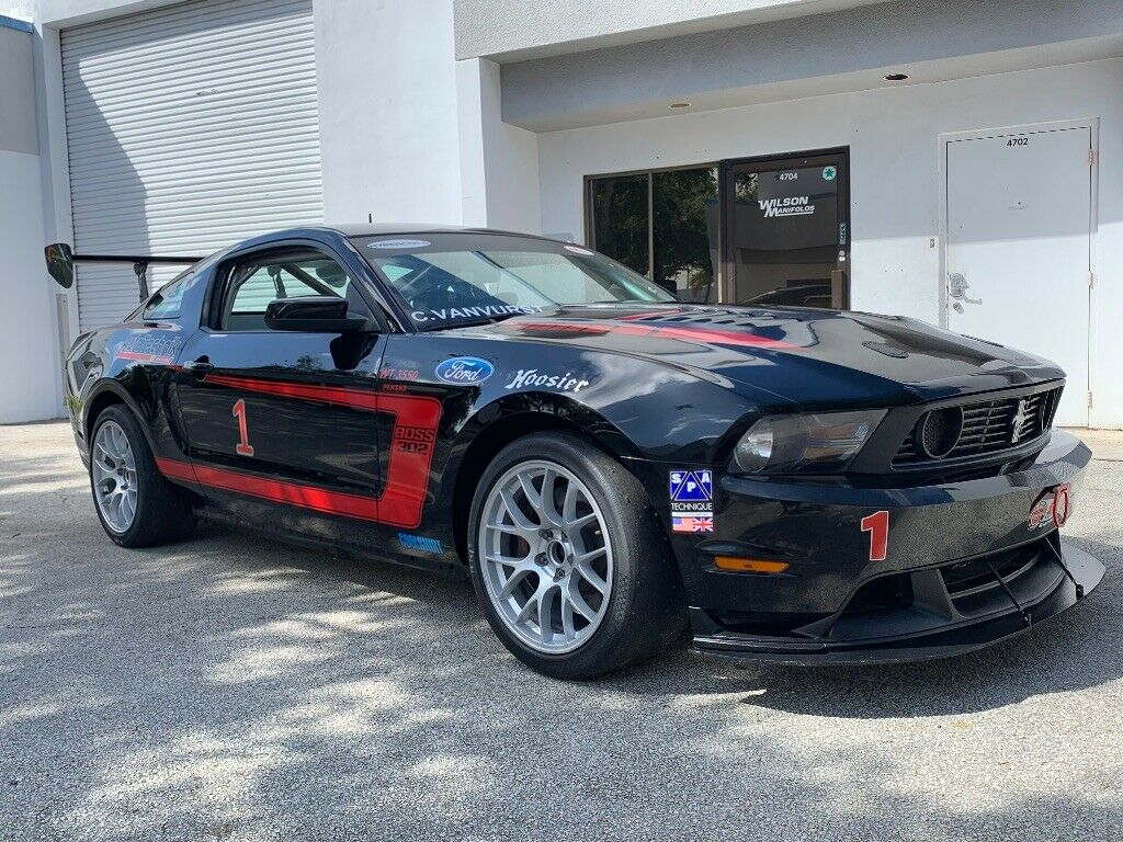 2012 Ford Mustang BOSS 302S #11 OF 50 Factory Built Race Cars!