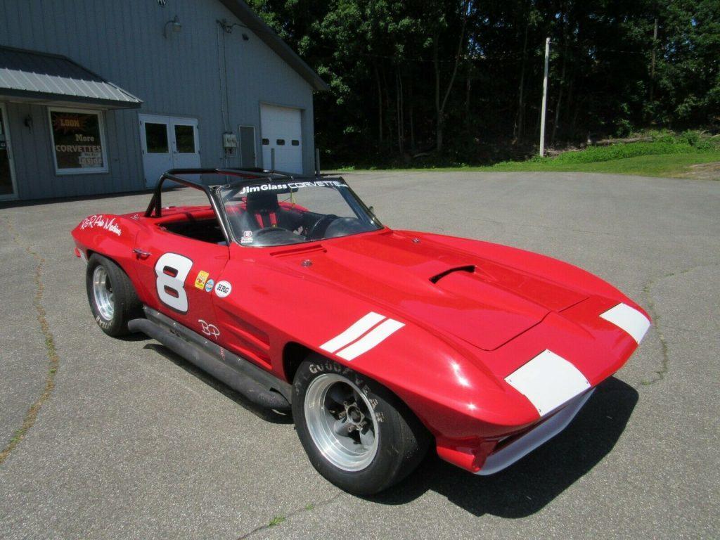 1964 Chevrolet Corvette B/Production Roadster SCCA SVRA Road Racer Vintage Race Car