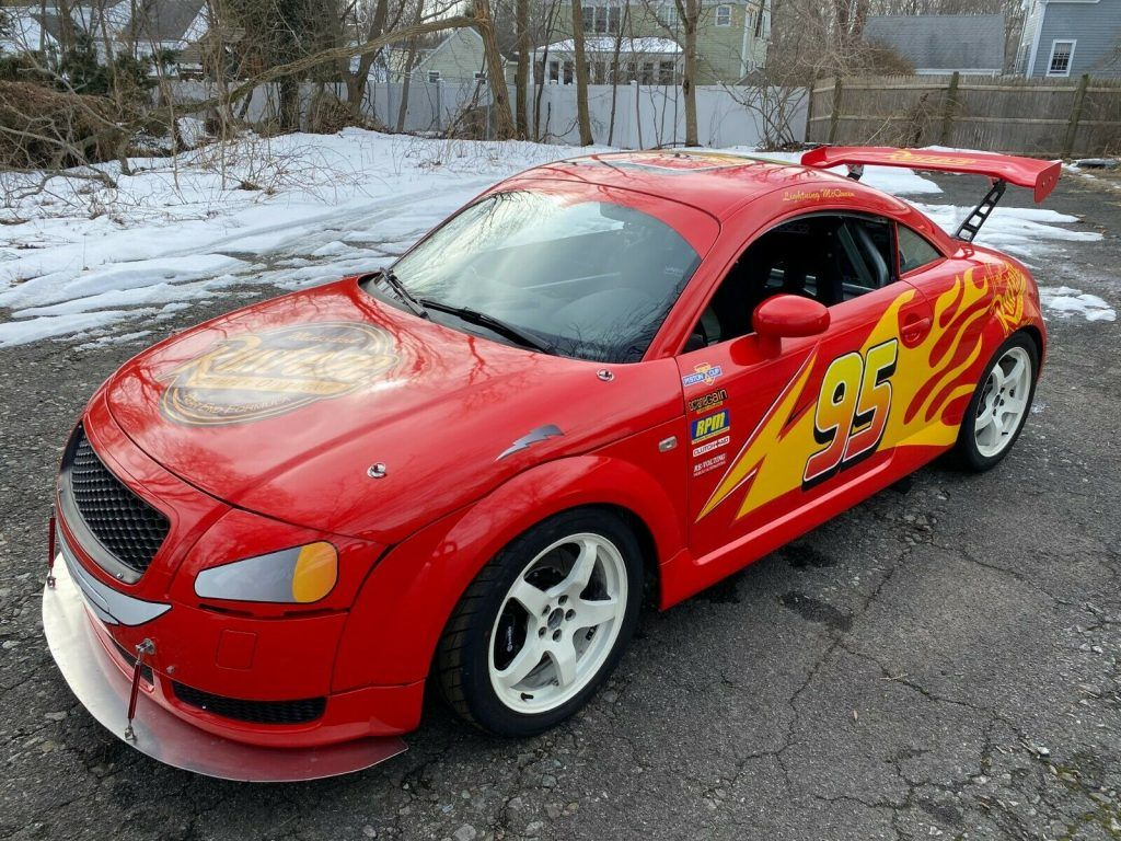 Lightning Mcqueen 2000 Audi TT Race / Track Car One of a Kind!
