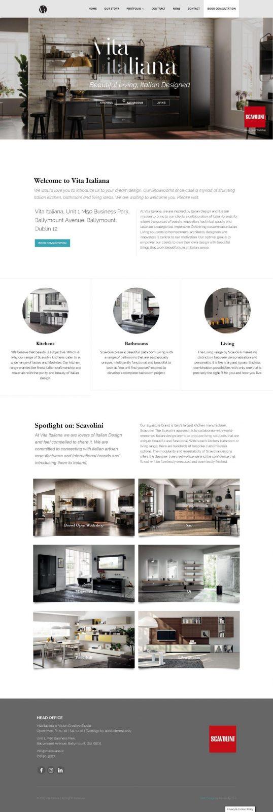 Furniture Web Design 1