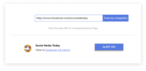 Get Email Alerts When a Competitor Launches a Facebook Ad 4