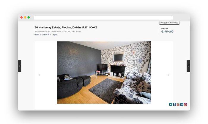 real estate website design gallery