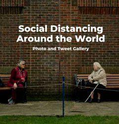 Social distancing photos