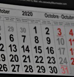 uk and ireland marketing calendar october 2020