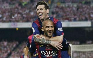 Dani Alves: Messi mi jednou řekl, abych Barcelonu neopouštěl a já mu dávám stejnou radu