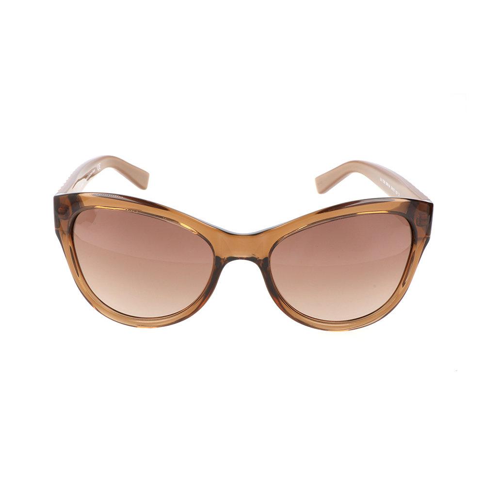 Occhiali da sole guess con montatura marrone chiaro for Occhiali da sole montatura in legno