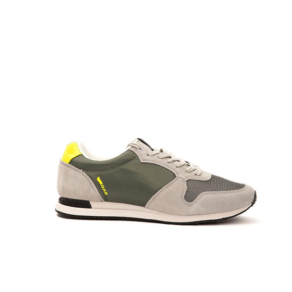brand new f4643 d642b Sneakers da uomo con dettagli fluo grigie - GAS SCARPE - Acquista su Ventis.