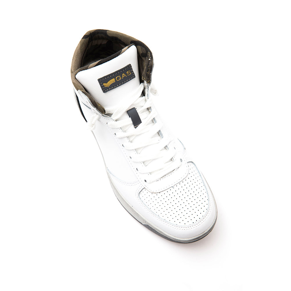purchase cheap b014f cb6bd Da Su Sneakers Scarpe Acquista Uomo Bianche Alte Ventis Gas ...