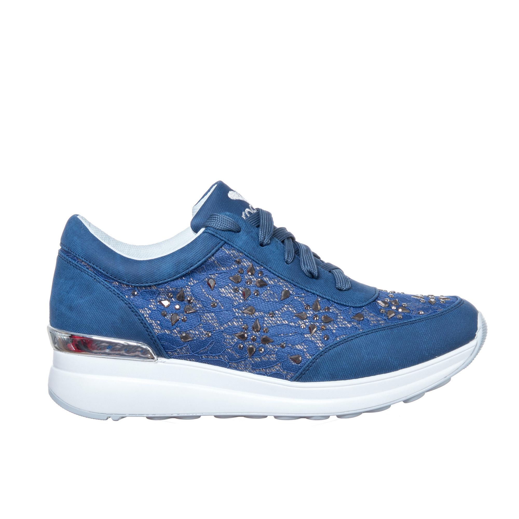 Sneaker con decorazioni, blu Braccialini Scarpe Acquista su Ventis.