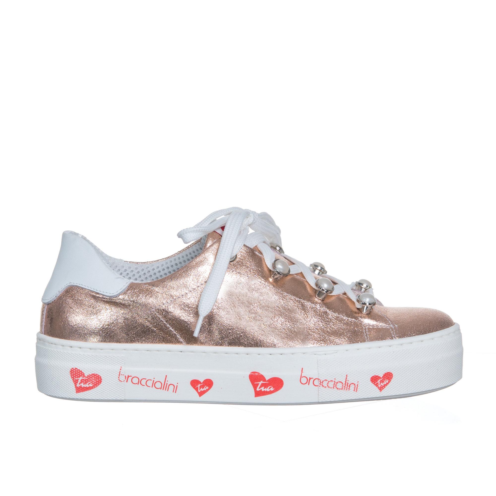 size 40 3dcc1 e8142 Sneakers con suola decorata, rame - Braccialini Scarpe - Acquista su Ventis.