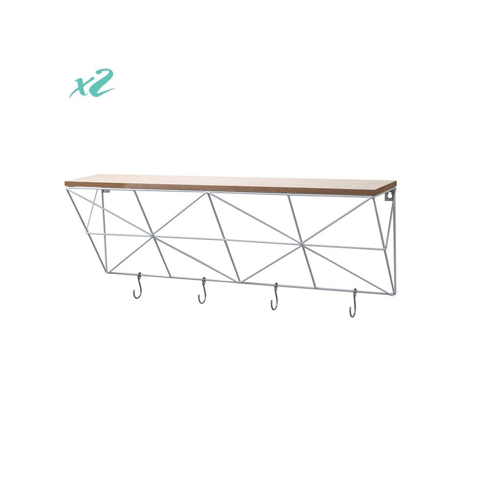 Porta oggetti da parete geomex 40x23 5 loft design for Oggetti da parete design