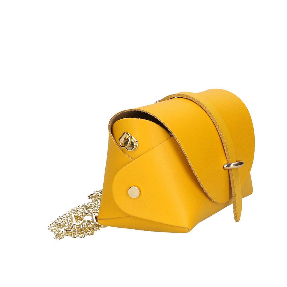 dc574dfa53 Borsa a tracolla piccola gialla - SIMONA SOLE BORSE - Acquista su Ventis.