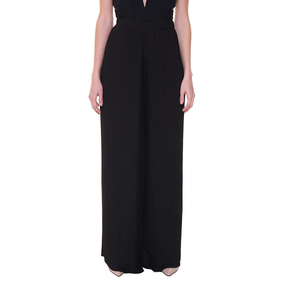 comprare popolare 4a2d1 a4f54 Pantaloni a palazzo plissettati neri - Guess - Acquista su Ventis.