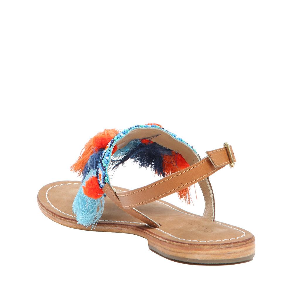 Acquista Multicolor Ethnic Su Ventis Coral Infradito Sandali qVLGSUMjzp
