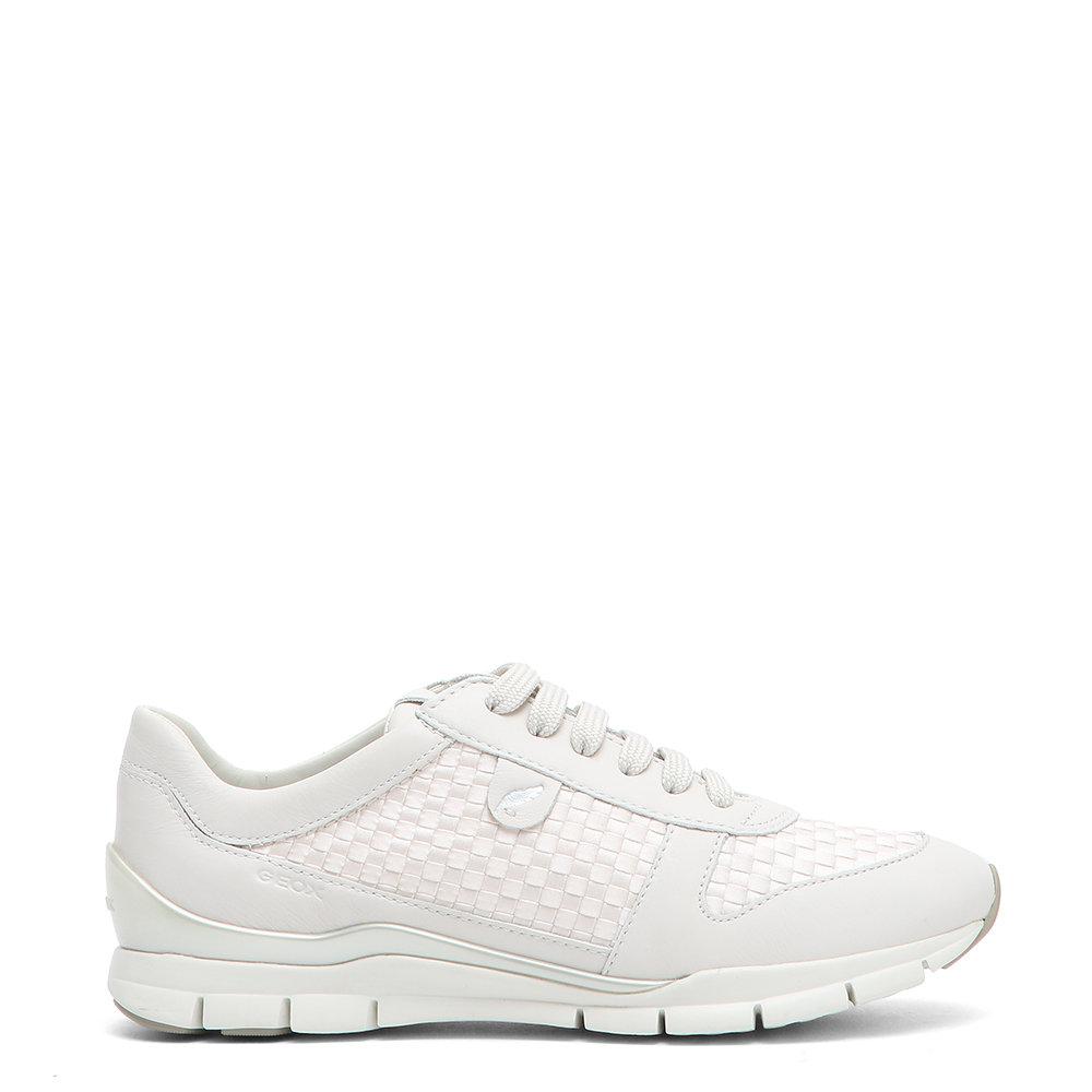 Sneakers in pelle bianche GEOX SCARPE Acquista su Ventis.