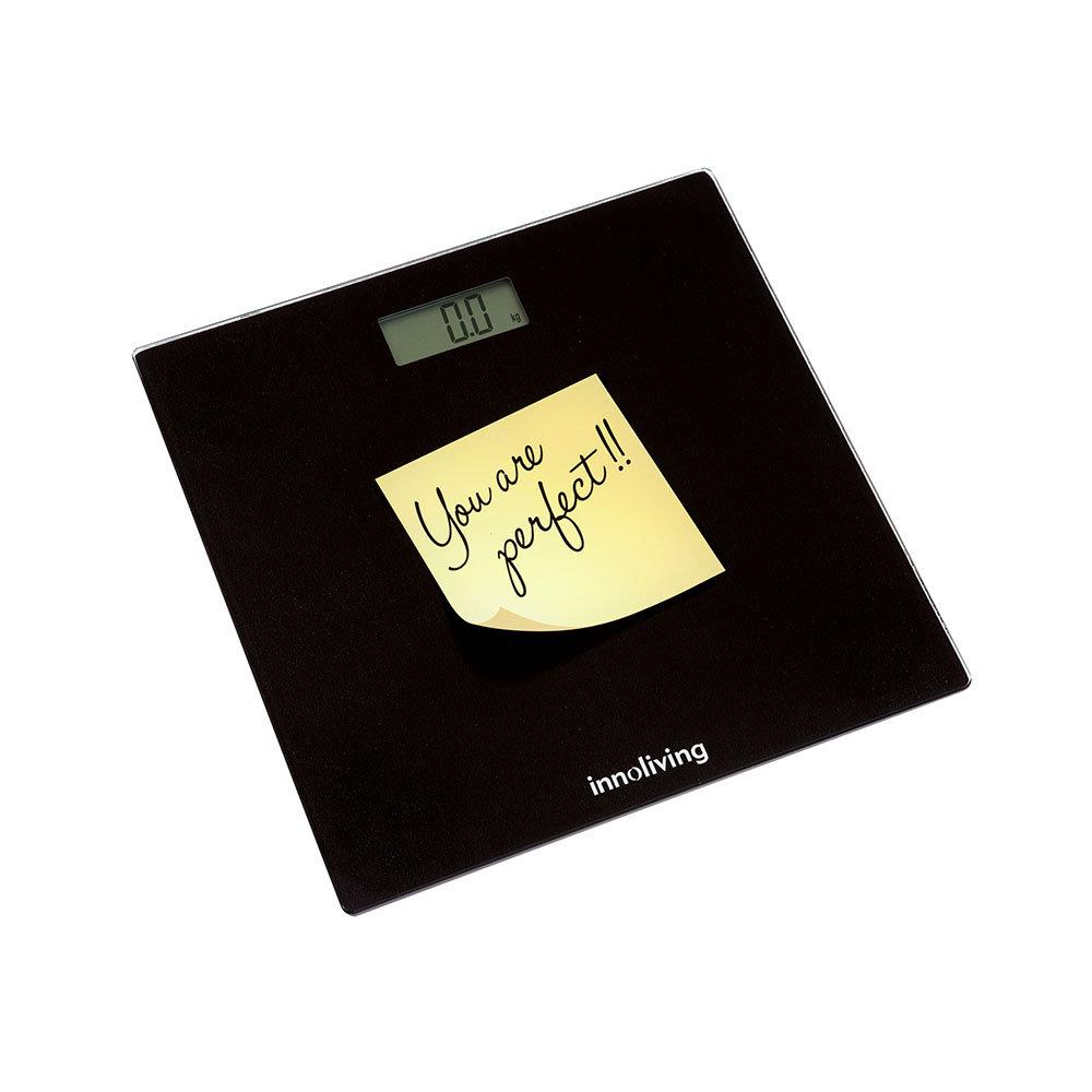Bilancia pesapersone YOU ARE PERFECT, nero INN 119B