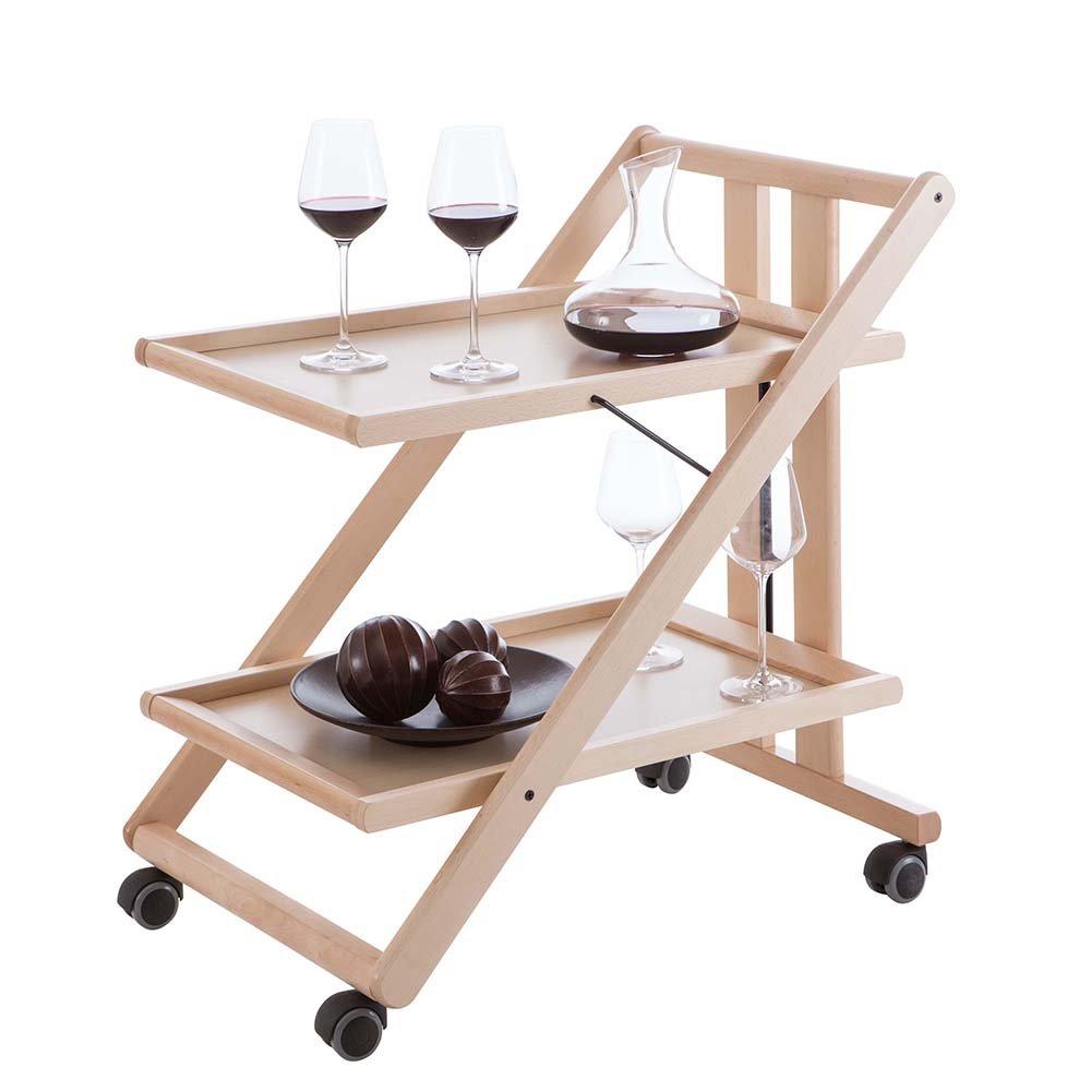 Carrello portavivande gimmy in legno naturale for Arredamenti italia