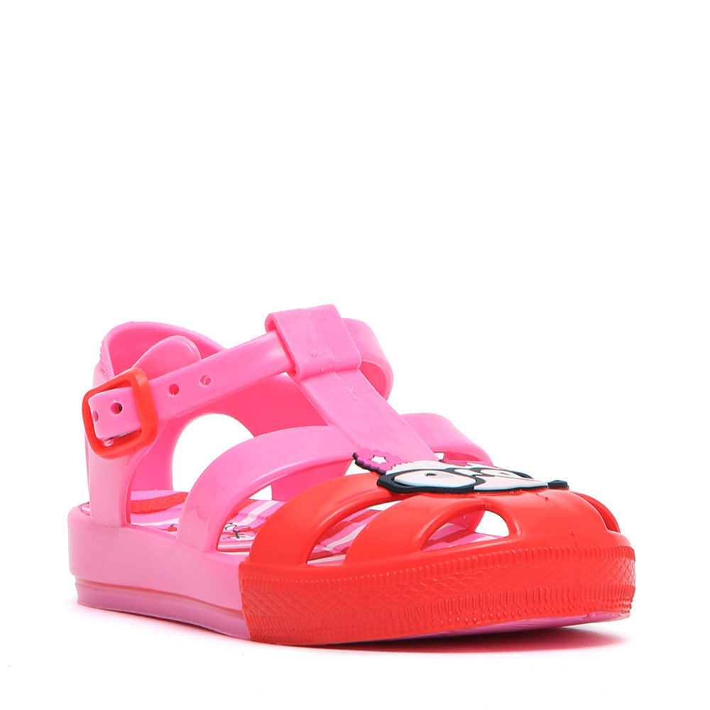 Sandali in jelly fuxia - Colors Of California - Acquista su Ventis. 060550af75a