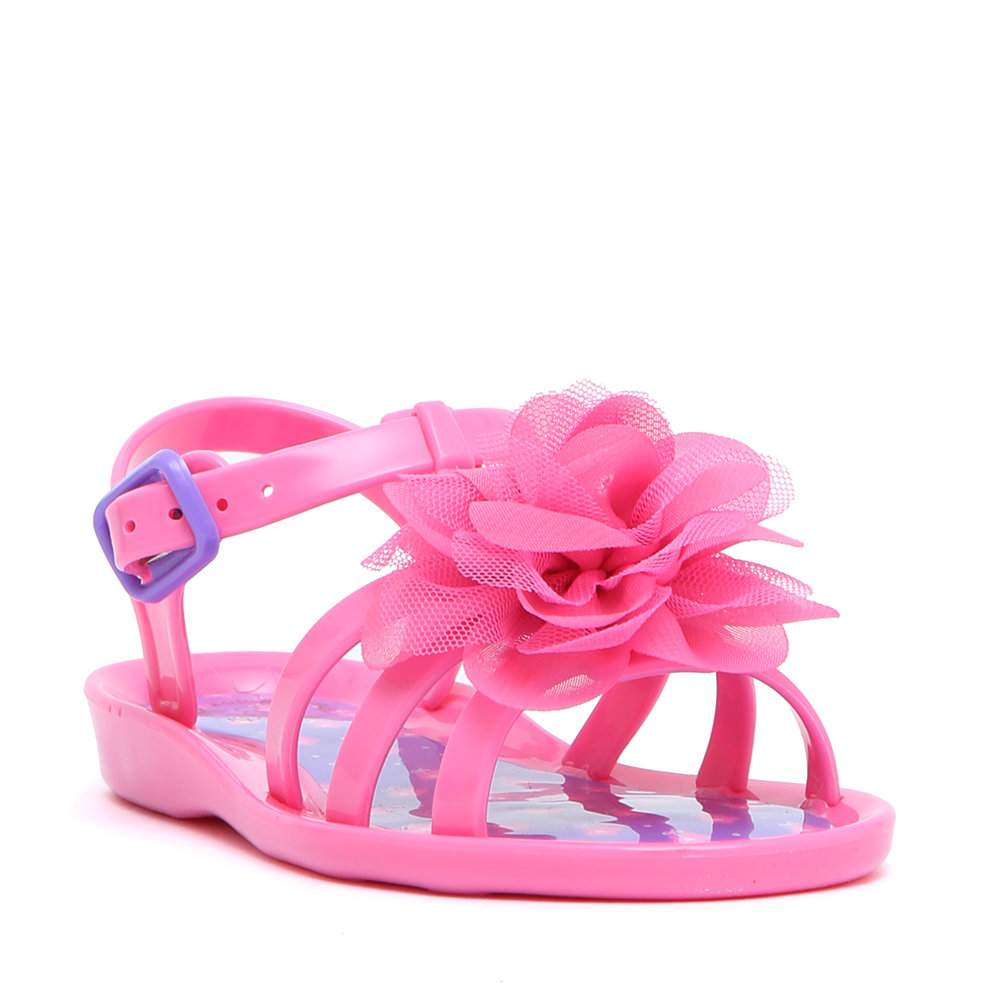 Sandali in jelly flower rosa - Colors Of California - Acquista su ... 91b3246b6a2