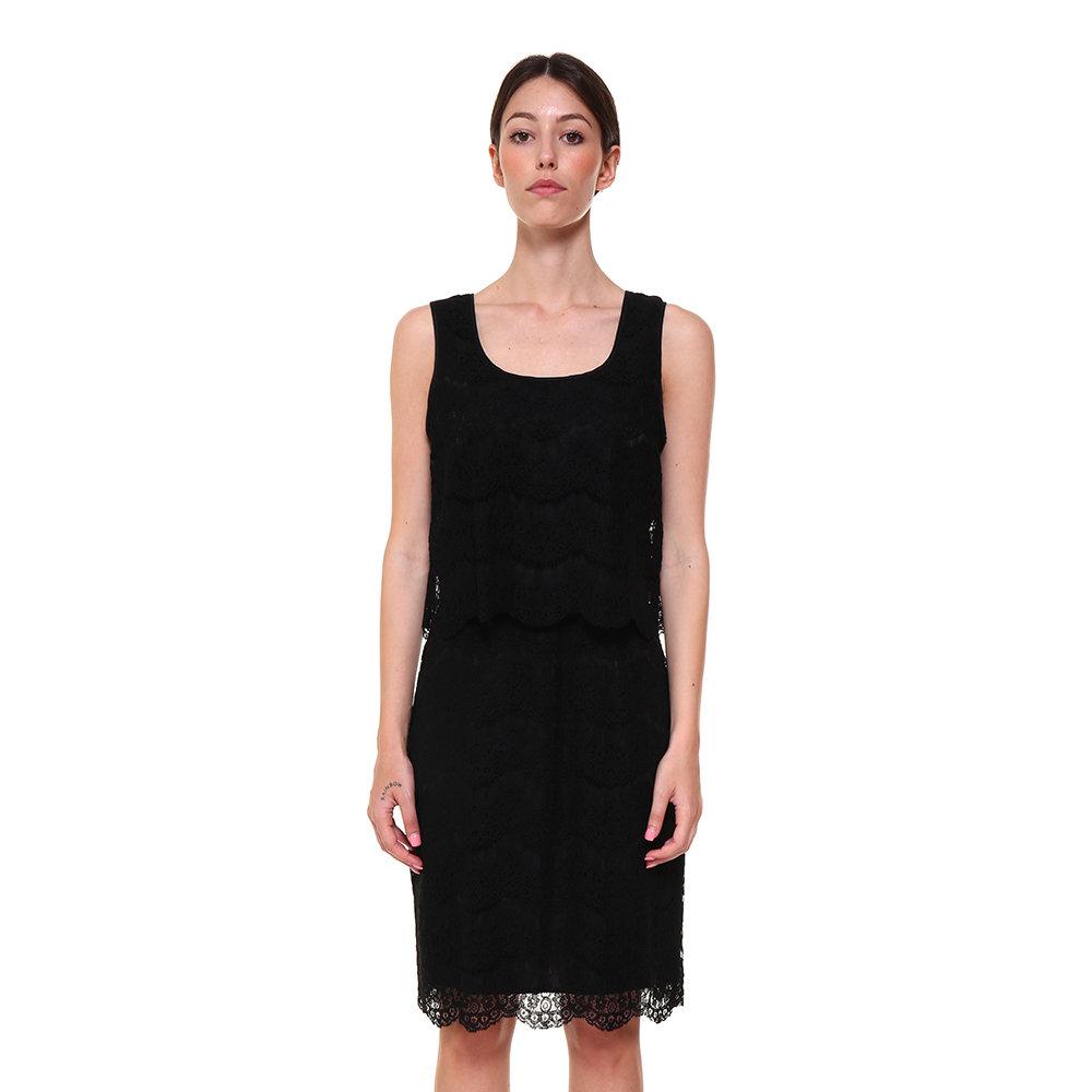 on sale 26dbe bfc3f Tubino in pizzo nero - Armani Abbigliamento - Acquista su Ventis.