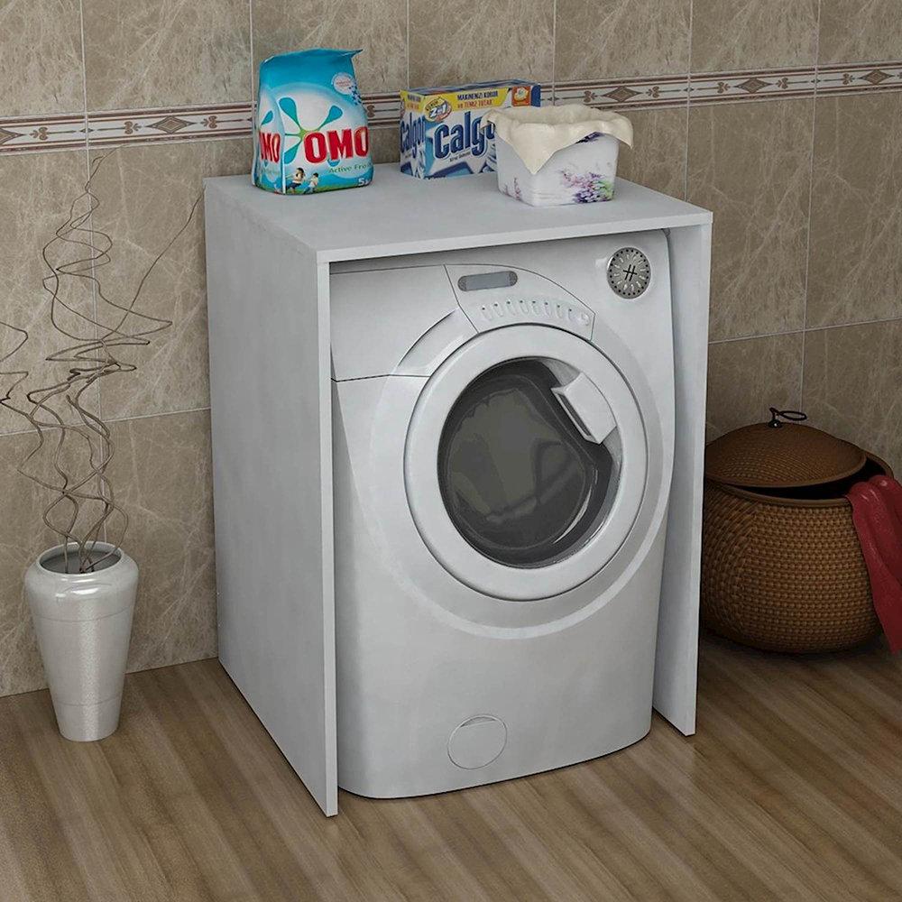 Copertura per lavatrice bianco moderno che passione acquista su ventis - Copertura lavatrice da esterno ...