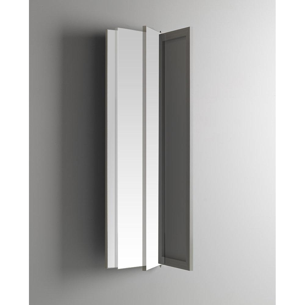 Specchio orientabile, specchio, argento - TFT Bagno - 2018 - Acquista su  Ventis.