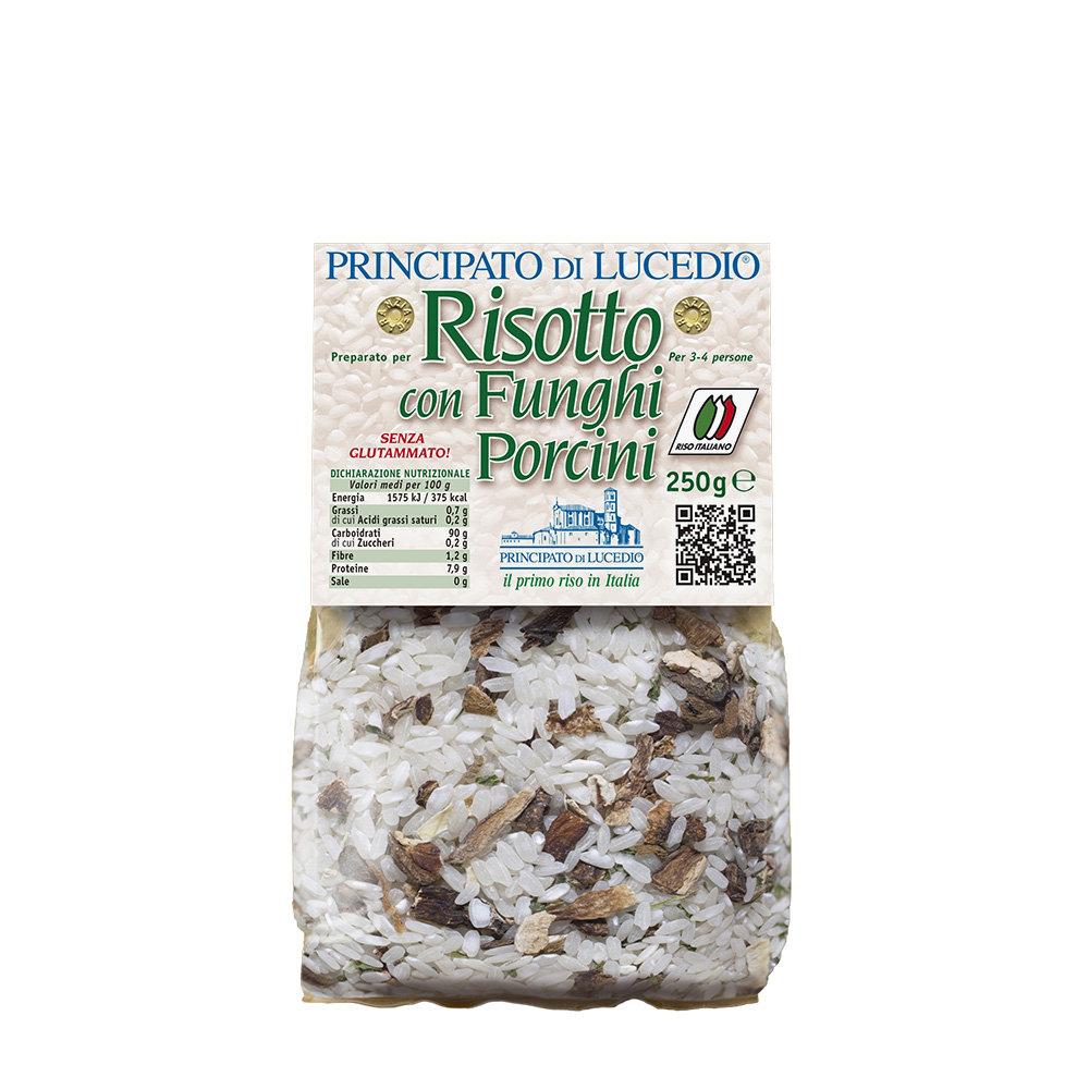 12 confezioni miste 250 gr: Risotto Funghi Porcini - Risotto Broccoli, Patate, Carote, Spinaci