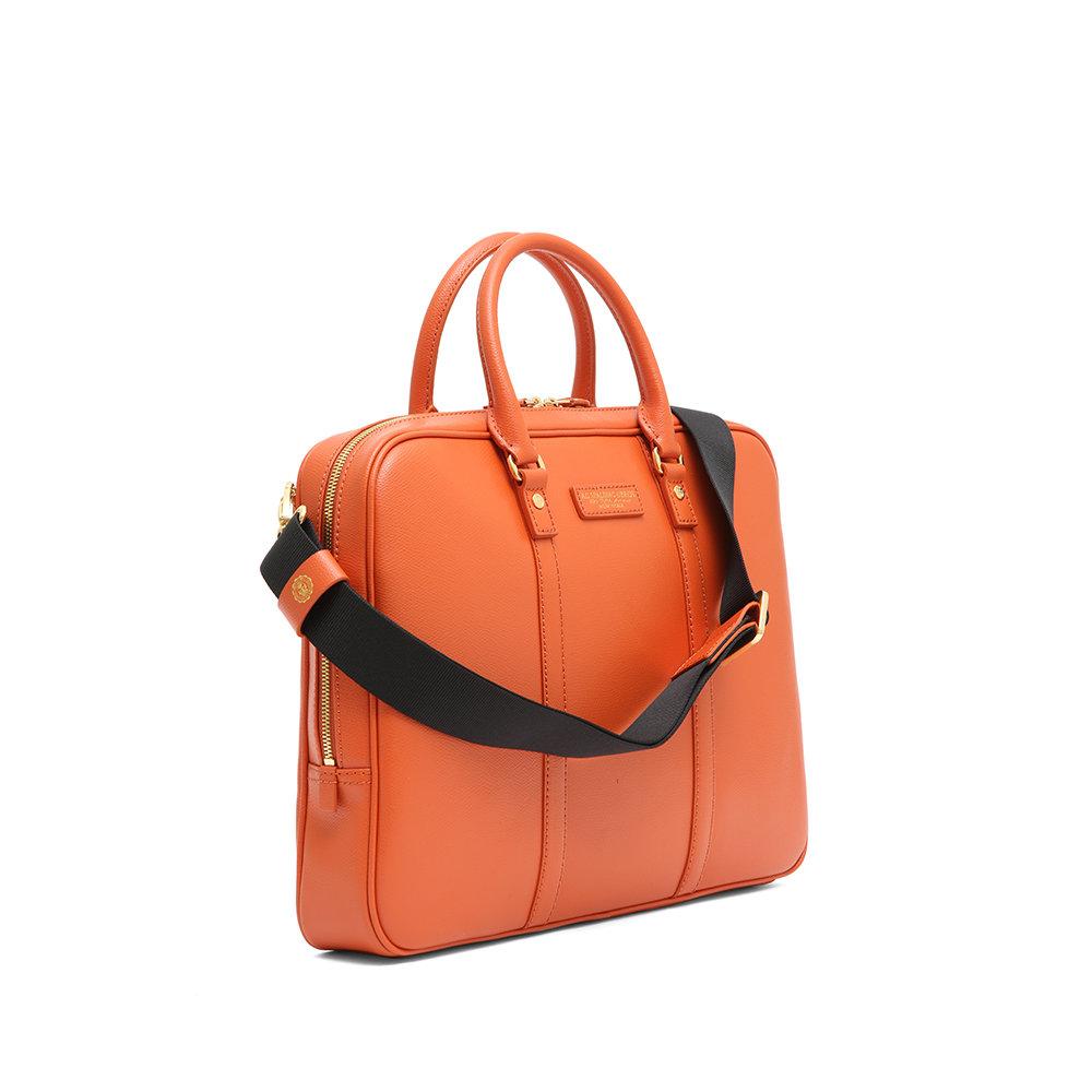 Cartella da donna arancione - Spalding Bros U D - Acquista su Ventis. 4407eac5a5e