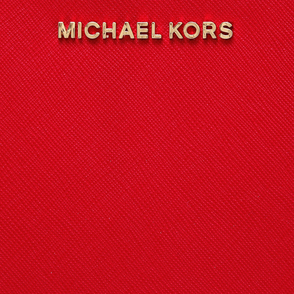 8387983ad3 Borsa a tracolla Jet Set Travel grande rossa - Michael Kors ...