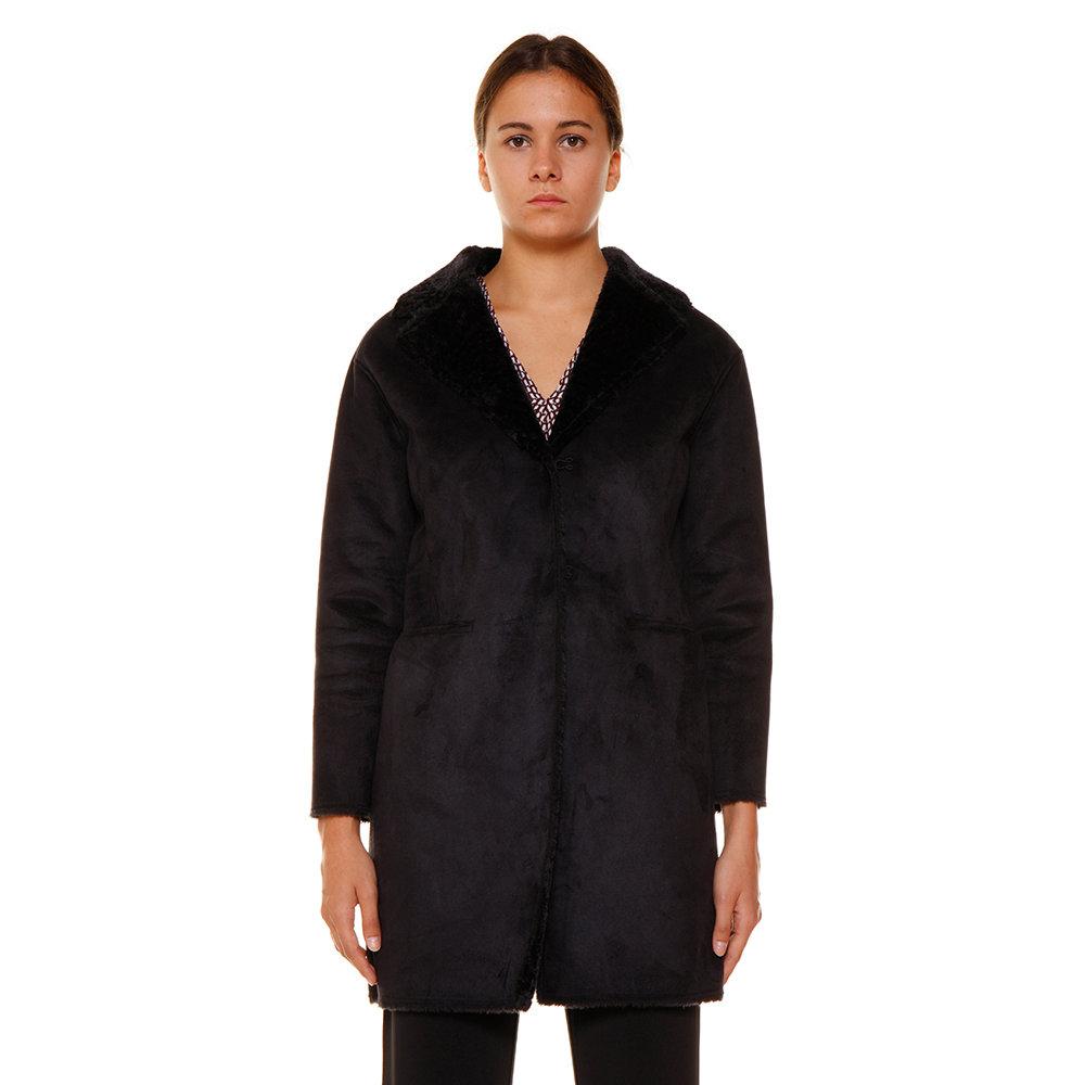 cappotto scamosciato