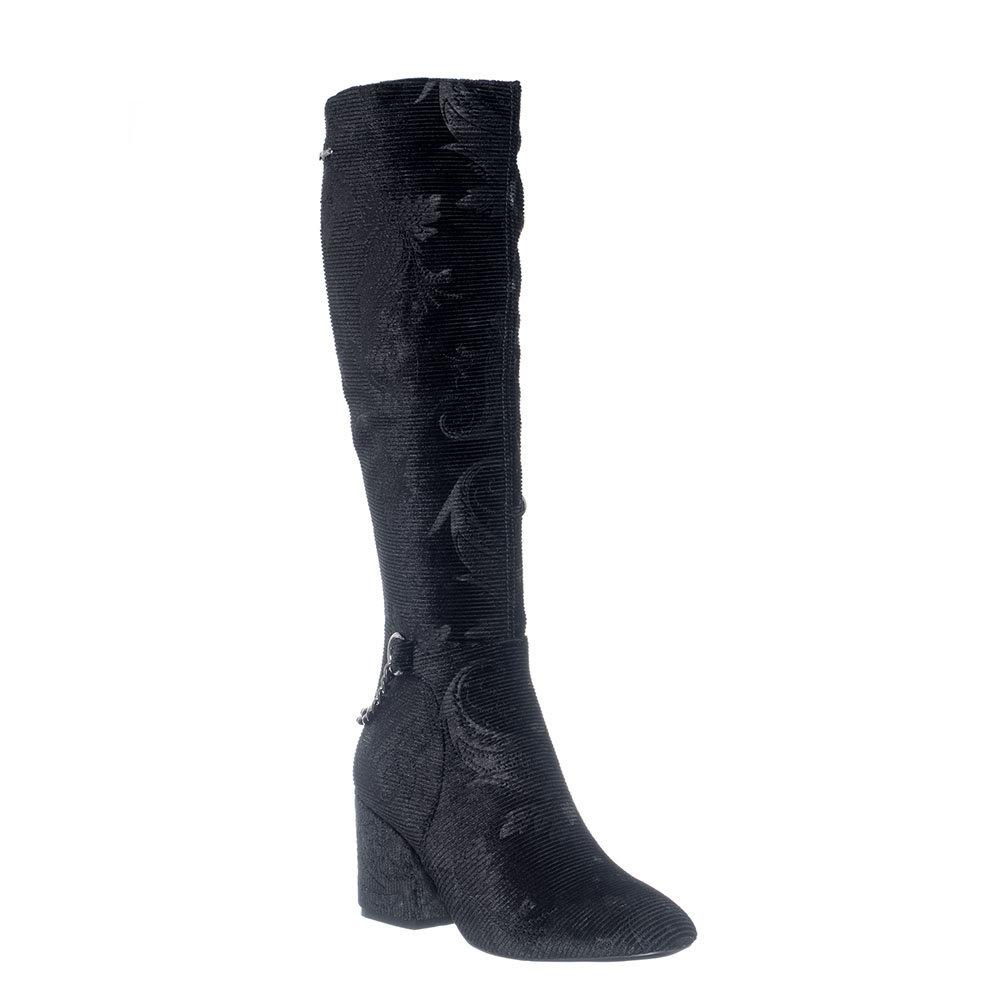 best sneakers af13b 07007 Stivali con tacco largo neri - Gai Mattiolo - Acquista su Ventis.